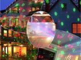 Laser Christmas Tree Lights Outdoor Christmas Laser Lights Projector Motion Snowflake Jingling