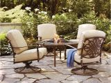 Lawn Chair Fabric Inserts Hampton Bay Cavasso 5 Piece Metal Patio Fire Pit Conversation Set