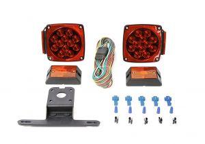 Led Boat Trailer Light Kit Amazon Com Maxxhaul 70205 12v Led Trailer Light Kit Automotive