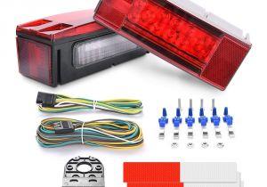 Led Boat Trailer Light Kit Amazon Com Mictuning Led Trailer Light Kit 12v Stop Tail Turn