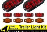 Led Boat Trailer Light Kit Amazon Com Tmh Trailer Light Kit Pack Of 2 6 Oval Stop Turn