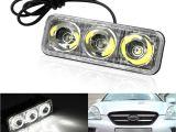 Led Fog Lights for Trucks 2018 Car High Power Aluminum Led Daytime Running Lights with Lens