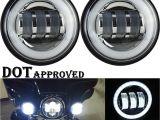 Led Fog Lights for Trucks 4 5 Inch Led Auxiliary Fog Light Burst Protect Cover Black for