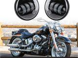 Led Fog Lights for Trucks Black Led Spot Fog Light for Harley Davidson Motorcycle 4 5 Inch