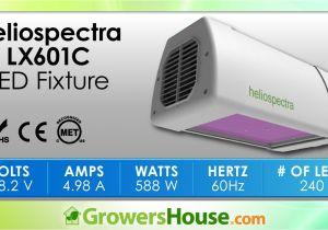 Led Grow Lights Review High Times Heliospectra Lx601c Led Grow Light Review Unboxing Par Test