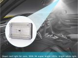 Led Interior Dome Lights for Cars 36 Smd Auto Car Dome Led Light Ceiling Interior Rectangular White