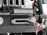 Led Light Bar Bumper Mounts 12in Dual or Single Row Led Light Bar Hawse Fairlead Mount 70127