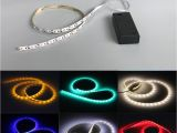 Led Light Strips Battery Powered 3528 2 Aa Battery Powered 50cm Strip Light Tape Flexible Tape Tv Dc3v Laptop Warm White