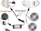 Led Light Tape Kits 5m 10m Led Flexible Strip Light Kit Smd 3528 Rgb 60leds M Waterproof