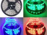 Led Light Tape Kits Music Activated Led Strip Full Kit 5050 Rgb Multi Color Party Led