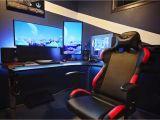 Led Lights for Gaming Setup Gaming Desks Gaming Pinterest Gaming Setup Game Room and Room