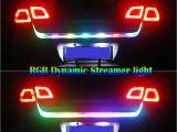 Led Strip Lights for Cars D12v 47rgb Car Rear Trunk Strip Light Tailgate Brake Drive Turn