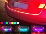 Led Strip Lights for Cars New 47 Rgb Led Car Trunk Sliding Light Strip Tailgate Edge Brake