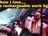 Led Underhood Work Light Braun Under Hood Rechargeable Work Light In Action Youtube