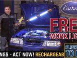 Led Underhood Work Light Deal Eastwood Rechargeable Underhood Led Light Bar W Free Work