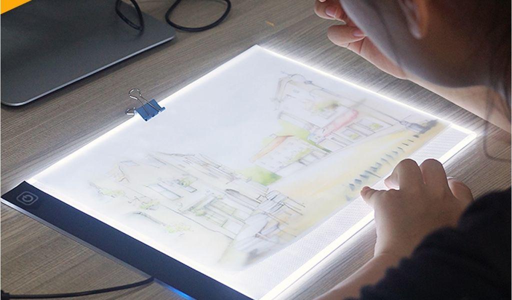 Light Board For Drawing Ultra Thin A4 Led Light Pad Artist Tattoo