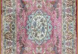 Light Pink Aztec Rug Pink Persian Rug oriental Turkish Carpet Silk Rug Tabriz Rugs Hereke