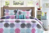 Light Pink Comforter Twin Amazon Com Mi Zone Mz10 230 Doodled Circles Polka Dots Reversible