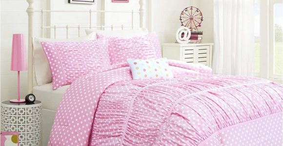 Light Pink Comforter Twin Amazon Com Mizone Lia 4 Piece Comforter Set Pink Full Queen Home