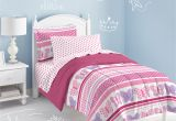 Light Pink Comforter Twin Dream Factory butterfly Dots Twin Mini Comforter Set Multi Walmart Com