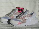 Light Pink Huaraches Nike Air Huarache Crystal Pink White Trainer