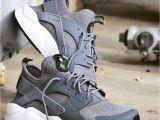 Light Pink Huaraches Nike Air Huarache Run Ultra Mist Grey Wolf Grey Trainer