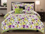 Light Purple Comforter Set Tulip Watercolor Bedspread Google Search Washington Square