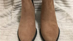 Light Tan Booties Faux Suede Ankle Booties Pinterest Light Browns Ankle Boots and