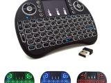 Light Up Wireless Keyboard Mini Wireless Keyboard Russian English Arabic 2 4ghz Wireless