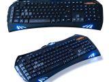 Light Up Wireless Keyboard Sintop Gk35 Wired Blue Led Backlit Keyboard Illuminated Ergonomic