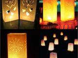 Lighted Paper Lanterns Ourwarm 10pcs Decorative Paper Lantern Lamp Wedding Lantern Garden