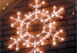Lighted Snowflakes Outdoor Lighted Outdoor Yard Decorations Outdoor Christmas Decorations