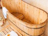Little Bathtubs for Sale Wooden Sauna Spa Wooden Tub Hot Sale Durable Massage