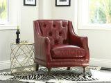 Ll Bean Leather sofa Shop Abbyson Nixon Red top Grain Wax Leather Chair Free Shipping