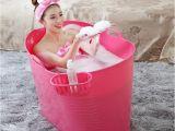 Long Portable Bathtub Free Shipping 2015 New Arrival Plastic Pe General Bath