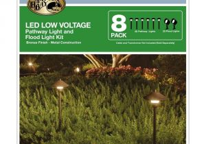 Low Voltage Path Light Kits Amazon Com Low Voltage Led Bronze Outdoor Light Kit 8 Pack Clothing
