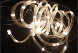 Low Voltage Rope Lighting Yiyang Outdoor solar Led String Lights Outdoor solar Rope Tube Led