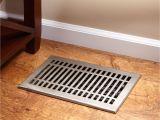 Lowe S Canada Floor Vents Contemporary Brass Floor Register
