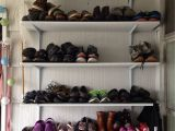 Lowes Over the Door Shoe Rack Shoe Rack for Less Than 50 Painted Pre Cut Particle Board From