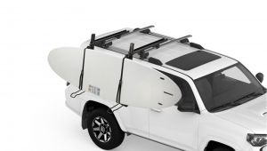 Luggage Rack for Sports Car Demo Showdown Side Loading Sup and Kayak Carrier Modula Racks