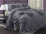 Lush Decor Belle 4 Piece Comforter Set Lush Decor Serena 3 Piece Comforter Set King White for the Home