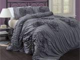 Lush Decor Belle 4-piece Comforter Set Queen Ivory Lush Decor Serena 3 Piece Comforter Set King White for the Home