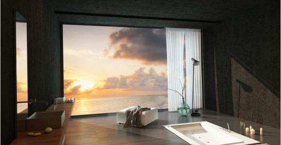 Luxury Sunken Bathtubs Modern Luxurious Master Bathrooms Pictures
