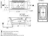 "Maax F2 Drain Abs Kit for Freestanding Bathtub 66"" X 36"" Maax Optik soaker Freestranding Bathtub Acrylic"