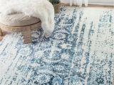 Marvel area Rug Need This Nuloom Blue Distressed Ernestina Flourish Rug Home