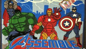 Marvel Avengers area Rug Marvel Avengers Official Licenced Kids Childrens Rug Mat Bedroom
