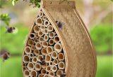 Mason Bee House Plans Bamboo Garden Bee Pollination Hanging Mason Bee House Mason Bee Hive