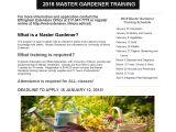 Master Gardener Program Online Master Gardener Training In Effingham Myradiolink Com