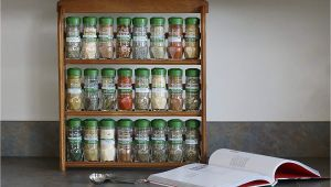 Mccormick organic Spice Rack Amazon Com Mccormick Gourmet organic Wood Spice Rack 24 Herbs