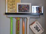 Medal Display Rack Ikea Hack Race Medal Hanger and Shelf Ikea Running Racing